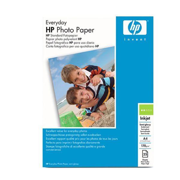HP Photo Paper  Semi Glossy A4 HPQ5451A