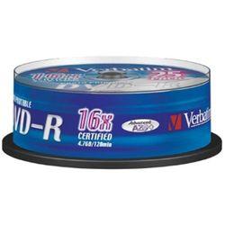 Verbatim DVD+R 25PK Spindle 16x