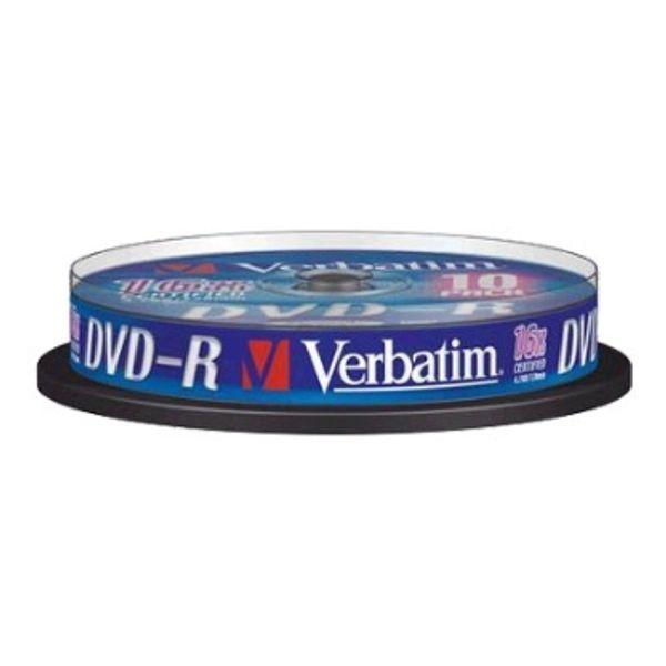 Verbatim DVD-R 10PK 43523