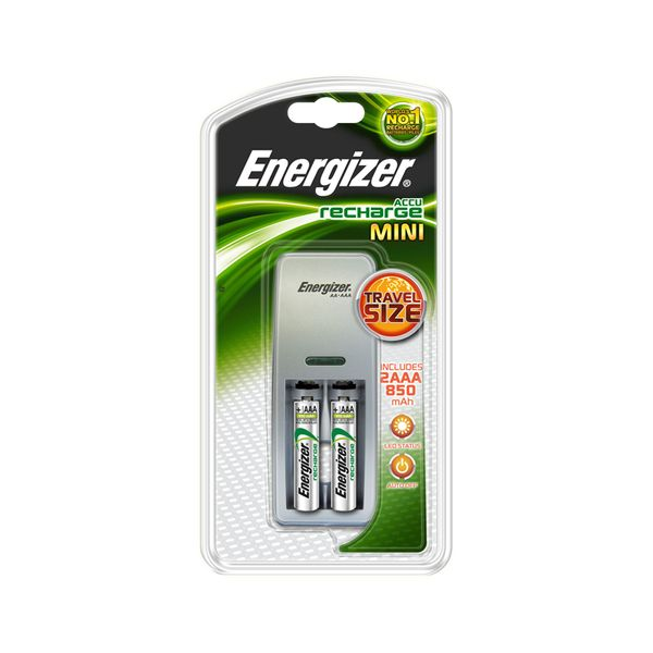 Energizer Mini Charger +2AAA R/C 850 mh