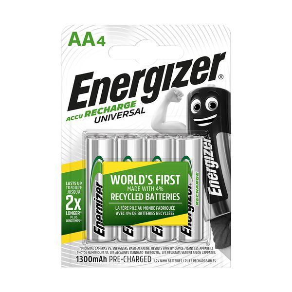 Energizer Επαναφορτιζόμενες AA 1300mAh