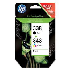 HP 338/343 Compo Pack