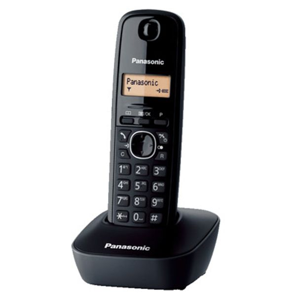 Panasonic KX-TG1611GRH Black