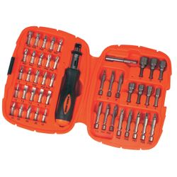 Black & Decker Set μύτες Α7039-XJ