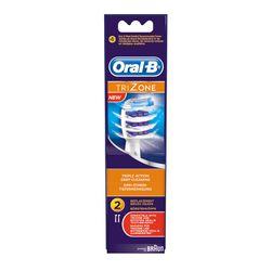 Oral-B EB30-2 Trizone Ανταλλακτικό Βουρτσάκι 2τμχ