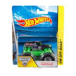 Mattel HotWheels Οχήματα Monster Jam