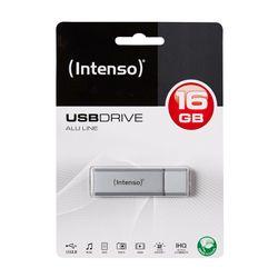 Intenso 16GB Alu Line Silver