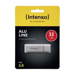 Intenso 32GB Alu Line Silver