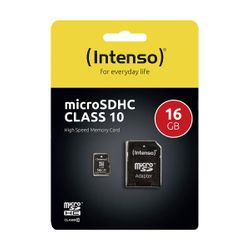 Intenso Micro SD Card 16GB