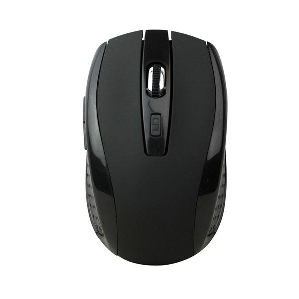 Πlay Basic Black Rubber Wireless Mouse