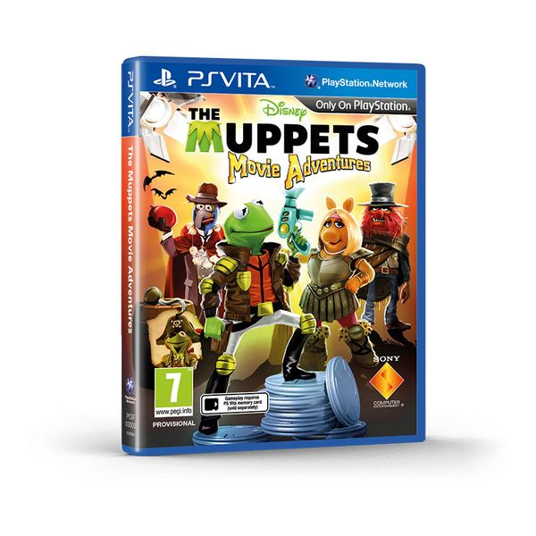 Sony Muppets Movie Adventures