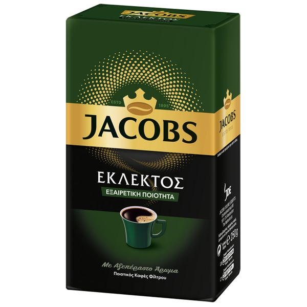 Jacobs Καφές Φίλτρου Εκλεκτός 250gr