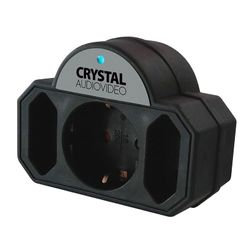 Crystal Audio 3 Θέσεων Μαύρο
