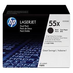 HP 55X 2Pack High Yield Black
