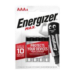 Energizer Max ΑΑΑ/LR03 4 Τεμάχια