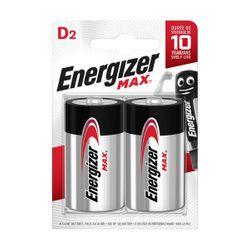 Energizer Max D/LR20 2 Τεμάχια