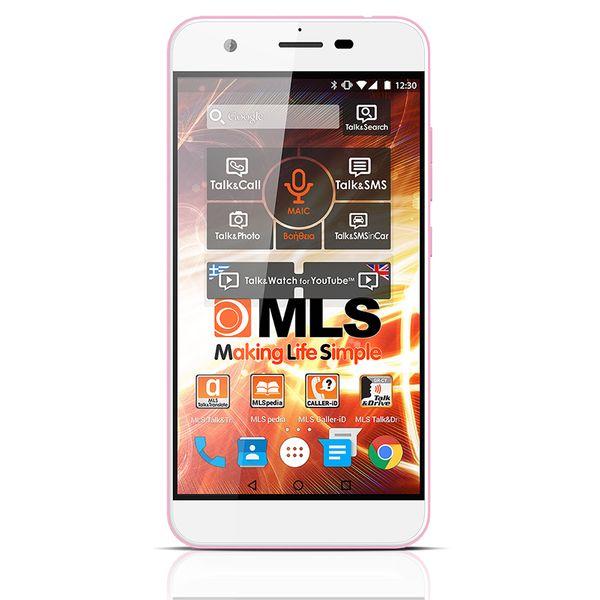 MLS iQTalk Spicy 4G Pink Dual Sim