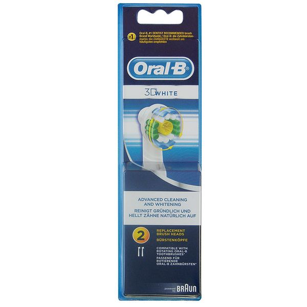 Oral-B EB18-2/N ProWhite Ανταλλακτικό Βουρτσάκι 2τμχ