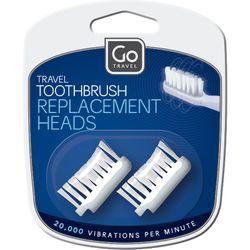 Go Travel Κεφαλές Οδοντόβουρτσας Ταξιδιού