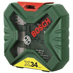 Bosch  Set Τρυπανιών X-Line 34τμχ