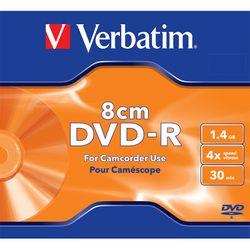 Verbatim DVD-R 8cm 30min 1.46GB 1 Τεμάχιο Matt