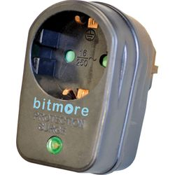 Bitmore P50 Μαύρο Μονόπριζο Ασφαλείας
