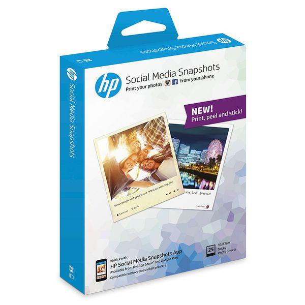HP Social Media Snapshots 10x13cm