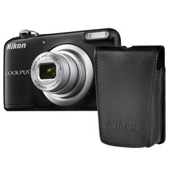 Nikon Φωτογραφική Μηχανή Compact A10 Black & Θήκη
