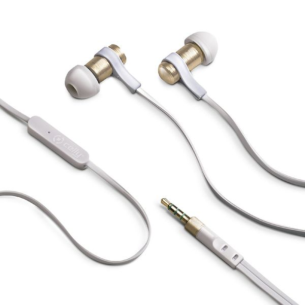 Celly Stereo 3.5mm Gold