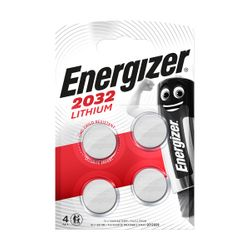 Energizer 4 Τεμάχια CR2032 Μπαταρίες Λιθίου