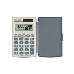 Sharp EL-0243EB Αριθμομηχανή Χειρός 8 Ψηφίων
