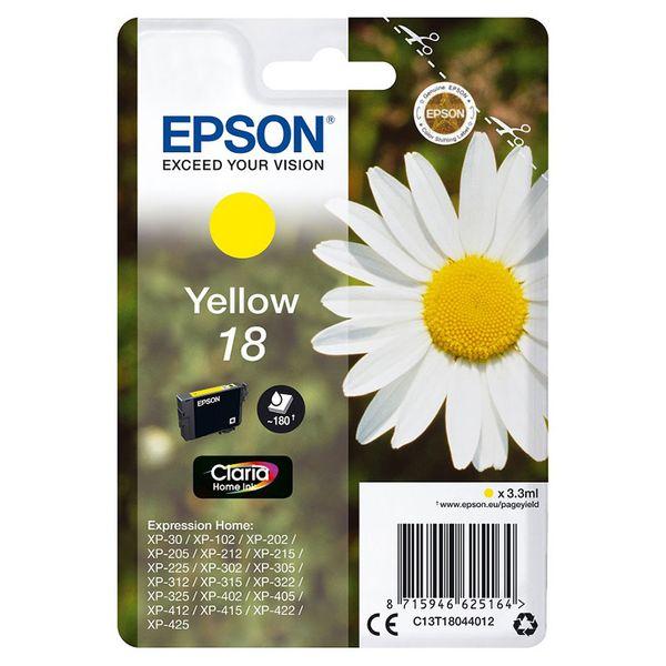 Epson 18 Yellow Claria