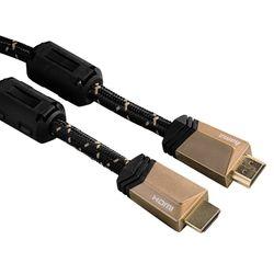 Hama HDMI 1,5m 5S Μπρονζέ