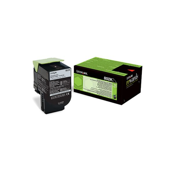 Lexmark 80C20K0 Black