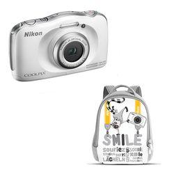 Nikon W100 White & Τσάντα