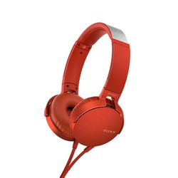 Sony MDRXB550APR Red