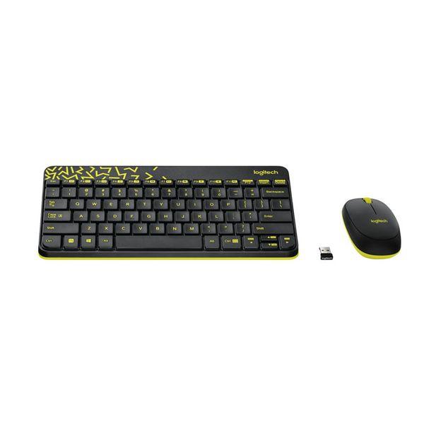Logitech MK240 Nano Black/Yellow