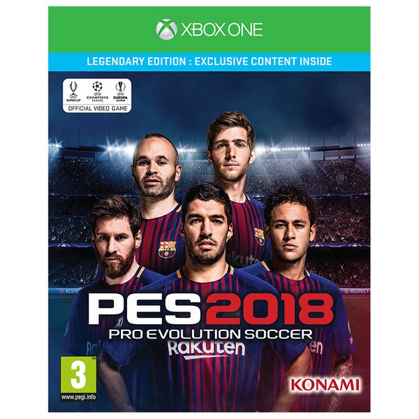 Konami Pro Evolution Soccer 2018 Legendary Edition