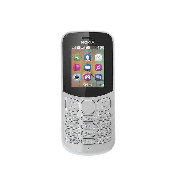 Nokia 130 Dual Sim Grey New