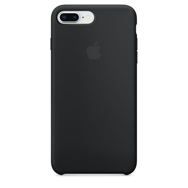Apple iPhone 8/7 Plus Σιλικόνης Black
