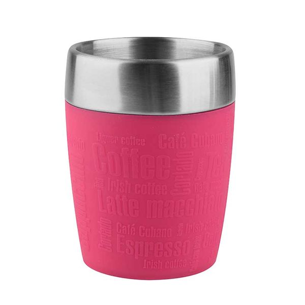 Tefal Travel Cup 0.2L Pink Kούπα Ταξιδίου