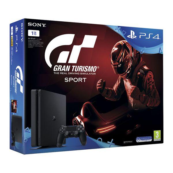 Sony Κονσόλα PS4 1TB Slim & Gran Turismo Sport