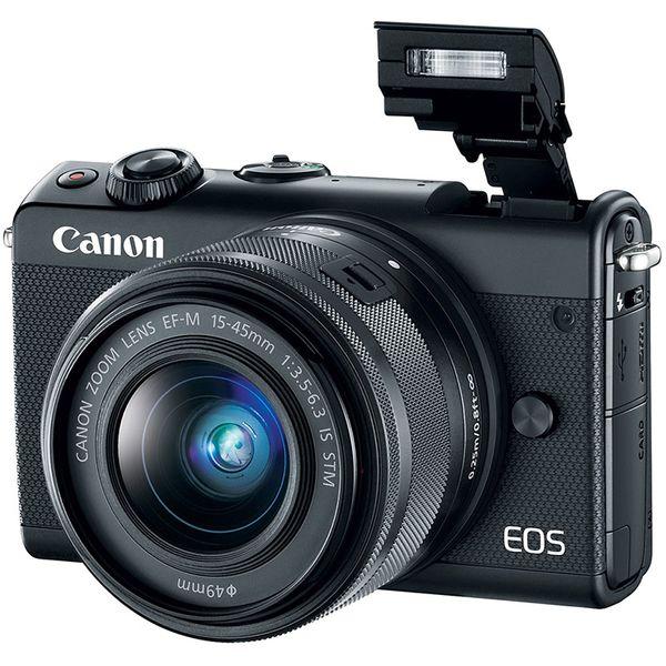Canon EOS M100 15-45 Black