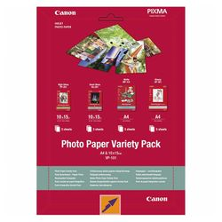 Canon VP-101 Variety Pack A4 & 10 x 15 cm