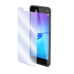 Celly 2.5D Full Glue Tempered Glass Easy Huawei Y6 2017