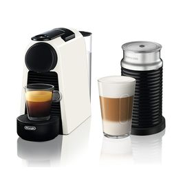 Delonghi EN85.WAE Essenza Mini Pure White & Aeroccino