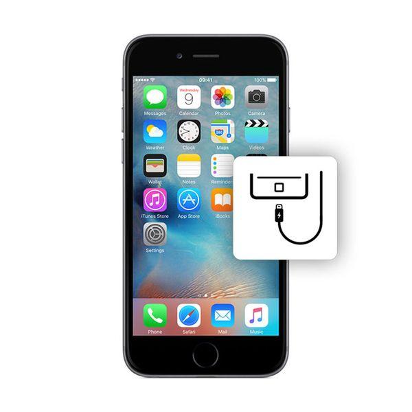 Αλλαγή Βάσης Φόρτισης iPhone 6 Silver