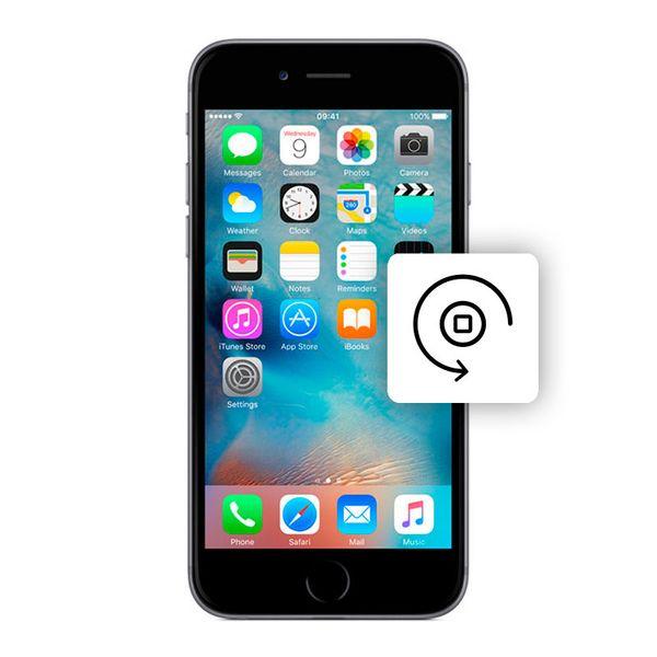 Αλλαγή Κεντρικού Πλήκτρου iPhone 6 Silver