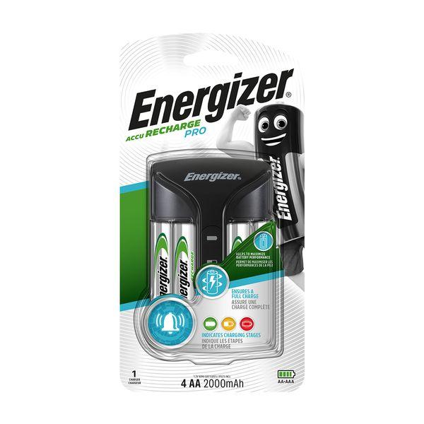 Energizer Pro Charger 4AA 2000mAh