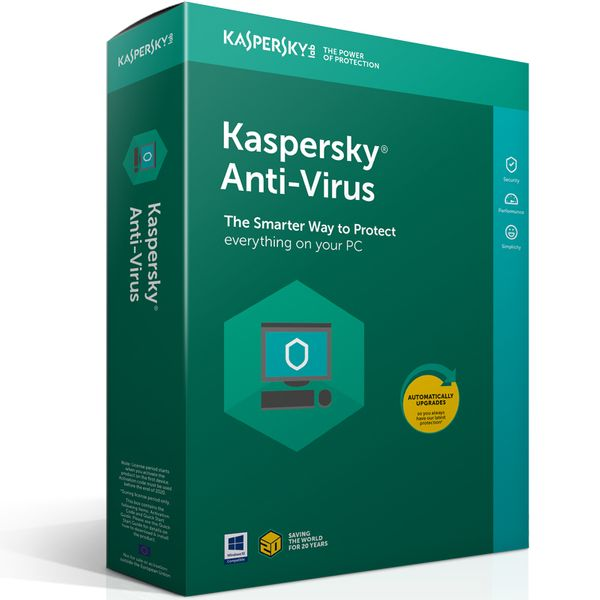 Kaspersky Anti-Virus 3PC